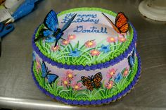 Butterfly cake by ~The-EvIl-Plankton