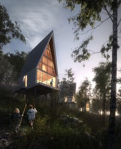 Nantahala Outdoor Center – Cabin A | Brillhart Architecture | Archinect