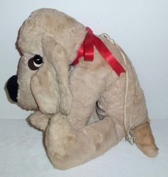 Rare vintage bantam morgan dog stuffed plush garry moore show toy my favorite childhood companion a bantam morgan dog publicscrutiny Choice Image