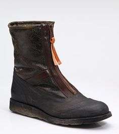 info for 717c0 90862 Maison Martin Margiela Zip-Up Ankle Boots