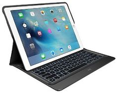 BLACK ** Logi CREATE is a backlit keyboard case for iPad Pro. CREATE connects to iPad Pro via Apple Smart Connector, so it does not require Bluetooth pair Ipad Pro Apple, Best Ipad, New Ipad Pro, Ipad Pro 12 9, Logitech, Samsung Galaxy S, Ipad Air 2, Ipad Mini, Totes