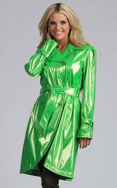 I've always loved this lime green color for a rain coat :)