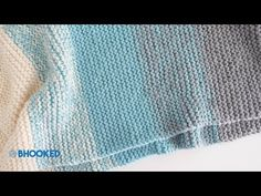How to Knit a Baby Blanket for Complete Beginners - Easy Knit Baby Blanket - YouTube