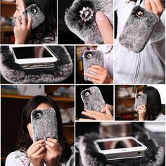 Cellphones & Telecommunications Phone Bags & Cases Knowledgeable 3d Cute Fluffy Rabbit Warm Fur Case For Iphone 7 8 Plus X Cases Cover Cotton Ball Cover For Iphone 6 6s Plus Fashion Phone Case