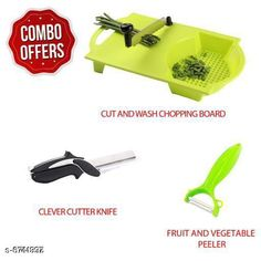 Chopping Boards Cut and Wash Chopping Board Combo with Peeler