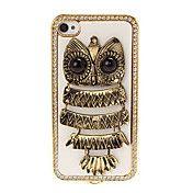 3D Owl Pattern diamantbelagt plating Skinning... – NOK kr. 57