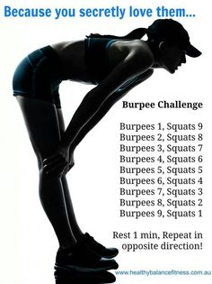I hate Burpees but they are a great workout