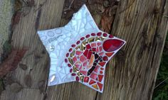 Weihnachtsteller, Tiffanyglas, Flip-Keramik, Millefiori, Glasnuggets
