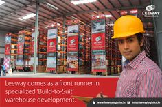 Leeway comes as a front runner in specialized 'Build-to-Suit' warehouse development. We have the expertise to drive processes right from conceptualization to construction and facilities management with state-of-the-art technology. Mail your query to info@leewaylogistics.in