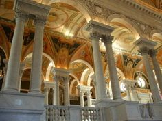 Library of Congress...old columns