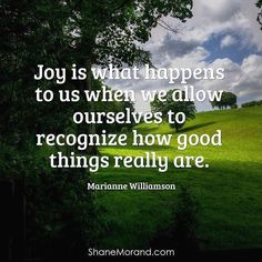 Check this out from @shanemorand http://ift.tt/2bspkIz Joy is what happens to us when we allow ourselves to recognize how good things really are. #MarianneWilliamson #ZeroNegativity #PursueHappiness #CoffeeMillion #ShaneMorand  Not Having a Massive Downline is NO Excuse!! Check Out @Rog100x To Increase Your Sells  #NetworkMarketing #Rog100x #OrganoGold #NapoleonHill #GrantCardone #Freedom #ThingBig #Mindset