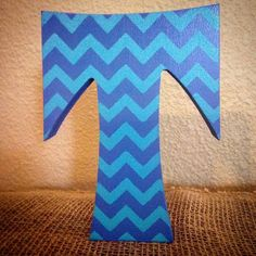 free standing chevron wood letters stand alone letters wood letters letter decor nursery decor stand up letters babynursery letters boy room by
