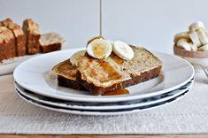 Banana bread french toast!