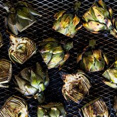Be ruthless about trimming the baby artichokes. Remove the dark-green outer leaves and continue until you get to the tender yellowish ones near the center. The parcooking is essential for a tender result, but it's worth it.