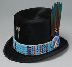 - Center of the West Online Collections Native American Baskets, Native American Clothing, Native American Regalia, Native American Artifacts, Native American Beadwork, Indian Beadwork, Native Beadwork, Western Hats, Cowboy Hats