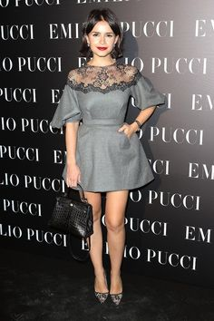 Miroslava Duma at the Emilio Pucci Fashion Week Party. #fashionweek