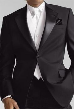 Gravata branca!