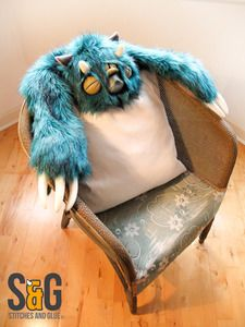 Image of Luxurious Teal Monster Rug (Rarity 4) 1 left!
