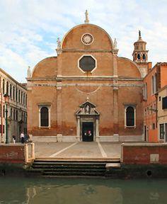 Carmini, Dorsoduro in Venice, Italy