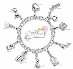 Bracelet, Charming by Ti Sento, I Shop Therefore I Am.