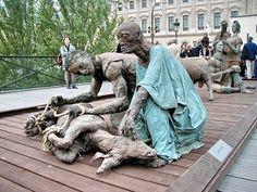 Grioo.com : Ousmane Sow, le sculpteur des hommes debout