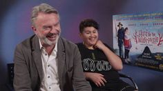 Sam Neill Reveals Julian Dennison's Infamy - but does Julian know what it is? Ricky Baker, Hunt For The Wilderpeople, Sam Neill, New Comedies, Foster Parenting, The Fosters, Real Life, Comedy, Hilarious