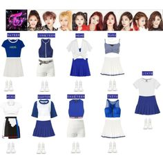 TWICE - LIKE OOH AHH❤️ by vvvan99 on Polyvore featuring polyvore, fashion, style, JENNY FAX, Michael Kors, Stussy, Ally Fashion, Versace, Lost Society and Duskii