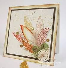 four feather stampin up - Google Search