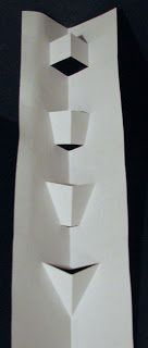V- fold Pop Up Card Tutorial