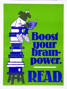 Boost your brainpower: Read / Robert Jacobson: design (1996)