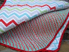 Inspire Me Grey: Big Finishes: More Chenille Blankets Picnic Blanket, Outdoor Blanket, Big Finish, Chenille Blanket, Rag Quilt, Quilting Projects, Baby Quilts, Fabric Crafts, Beach Mat