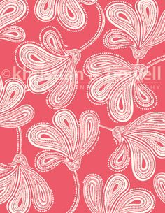 """Print from collection """"Provencal"""" Textile Patterns, Textiles, Doodle Monster, Lace Print, Surface Pattern Design, New Work, Provence, Color Inspiration, December"""