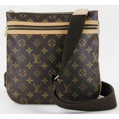 Louis Vuitton Monogram Bosp Messenger Crossbody Bag Lv Handbags Chanel