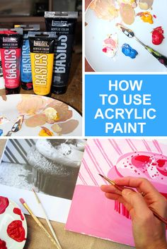 Acrylic paint might seem like an intimidating medium, but luckily, it's one of the more accessible methods of painting for beginners. Supplies are minimal and the method is quite easy when you break it down.