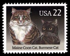 US 22c postage stamp - 1988