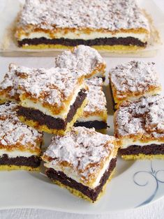 Polish Desserts, Polish Recipes, Meat Recipes, Cake Recipes, Dessert Recipes, Cooking Recipes, Instant Pot Dinner Recipes, Homemade Cakes, Christmas Desserts