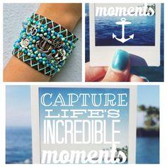 Capture life's incredible moments #muska #happylife #handmade #hechoenmexico #modamexico #relax #weekend #pulseras #accesorios #shop www.muska.com.mx