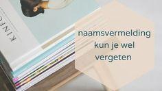auteursrecht recht op naamsvermelding