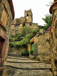 Medieval Village, Eus, France
