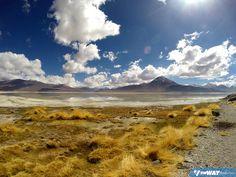 Laguna Branca e Laguna Verde, paraísos naturais na Bolívia