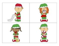 This activity is designed to help your students practice following directions that are complex or contain 2 steps. There are two different following directions mats (elves and Christmas trees), 16 manipulative pieces for each mat, and 24 following directions cards for each mat.