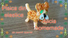 Cum se face o  PISICA  din elastice loom pe suport special TUTORIAL (RO)... Rubber Bands, Loom, Homemade, Face, Diy, Home Made, Bricolage, The Face, Do It Yourself
