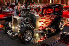 """Burnt One"" 32 Ford Tudor  Australia"