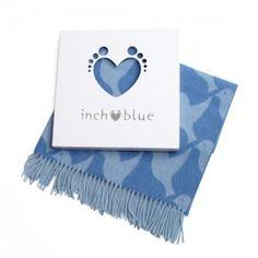 Was £40 - Indigo Receiving Blanket