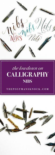 The Lowdown on Calligraphy Nibs