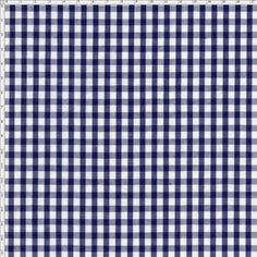 Tecido Estampado para Patchwork - Xadrez Fio Tinto Azul Cor 07 (0,50x1,40)