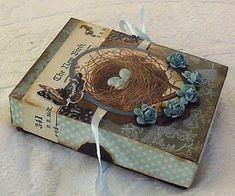 Brag Monday - Clock Collage & Robin's Nest Soap Box - The Graphics Fairy