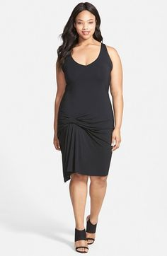 Tart+'Kacy'+Asymmetrical+Hem+Racerback+Jersey+Tank+Dress+(Plus+Size)+available+at+#Nordstrom