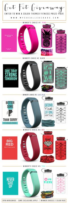 Get Fit Giveaway Prize Pack