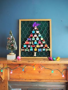 How to make an upcycled cotton reel Christmas tree All Things Christmas, Christmas 2019, Christmas Crafts, Christmas Ornaments, Christmas Trees, Cotton Reel Craft, Art Projects, Sewing Projects, Wooden Spools
